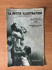 LA PETITE ILLUSTRATION revue hebdomadaire n° 506- cinéma n° 16 : les no