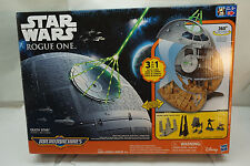 STAR WARS MICRO MACHINES ROGUE ONE DEATH STAR PLAYSET NEW SEALED BOX FIGURES