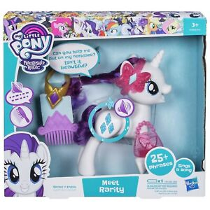 Talking My Little Pony Meet Rarity Pony 25+ Phrases & Sings A Song