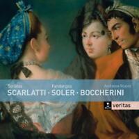 SCARLATTI SONATEN/FANDANGOS - STAIER,ANDREAS ERATO VERITAS 2 CD NEW