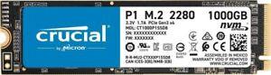 Crucial P1 1TB M.2 (2280) NVMe PCIe SSD