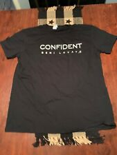 Demi Lovato Confident Tour T Shirt Unisex Black XL XLarge