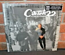 CATCH 22 - Alone in a Crowd, Ltd/170 CLEAR BLUE VINYL LP + Download New & Sealed