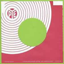 PYE (pinky red circles angled) REPRODUCTION RECORD COMPANY SLEEVES  (pack of 10)