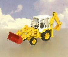 OXFORD CONSTRUCTION 1/76 1980'S JCB 3CX BACKHOE LOADER EXCAVATOR/DIGGER 76JCX001