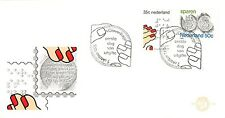 E143b First Day Cover Netherlands 1975 Gecombineerde uitgifte (1077-1078)