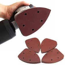 40x 140*90mm 60/80/120/240 Dreieck Schleifpapier Schleifwerkzeug Schleifblätter