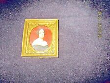 Lundby of Sweden Vintage Wall Painting w/ golden frame Lady Good shape!
