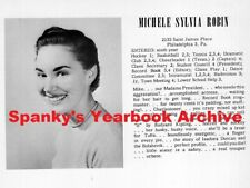 1954 Philadelphia Friends High School Yearbook ~ Photos Seniors Clubs Sports ++