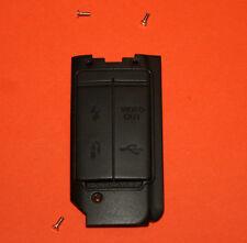 Canon EOS 40D digital-Ersatzteil-Seitenteil mit Gummi-Anschlussabdeckung !