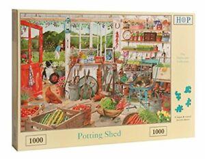 1000 Piece Jigsaw Puzzle - Potting Shed