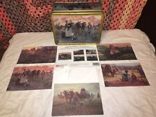 1995 Mort Kunstler Civil War Family Series 16 Stationary Cards & Collectible Tin