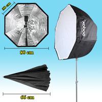 "Godox Octagon Softbox 80cm/31.5"" Inch Umbrella Reflector for Flash Speedlight"