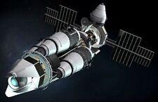Orbital Laser System End War Spacecraft Wood Model Large New