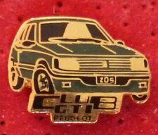 RARE PIN'S PEUGEOT 205 CLUB GTI VERTE EGF