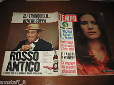 RIVISTA TEMPO 1966/15=NICOLETTA MACHIAVELLI=BRIGITTE BARDOT=