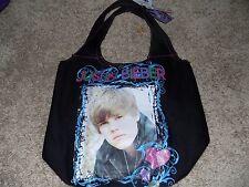 Justin Bieber Black Tote Bag