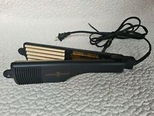 Gold N' Hot GH3013 Gold Tone Crimping Iron, 2 Inch - Excellent Condition!