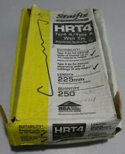 Staifix HRT4 Type 4/Type A Wall Tie Ties Stainless Steel 225mm Box of Approx 250