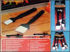 BBQ Grillpinsel Backpinsel Küchenpinsel  Universalpinsel   2-tlg. oder 2x 2-tlg.