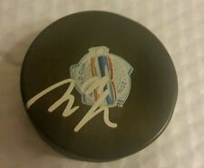 Loui Eriksson Autographed 2016 World Cup of Hockey puck Vancouver Canucks