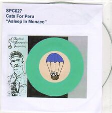 (EO602) Cats For Peru, Asleep In Monaco - 2009 DJ CD