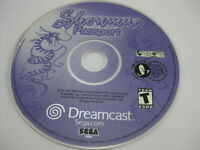 Shenmue (SEGA Dreamcast, 2000) - PASSPORT Disc Only - Replacement - Clean disc