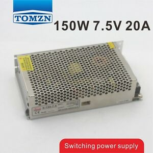150W 7.5V 20A Single Output Switching power supply