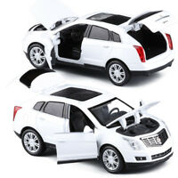 1:32 Cadillac SRX SUV Metal Diecast Model Car Toy Sound&Light Gift White