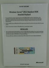 Microsoft Windows Server 2012 Standard HP ROK 2CPU/VM MUI NEU 701905-A22 Deutsch