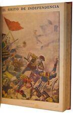 1900c EL GRITO DE INDEPENDENCIA Guerra contra el Frances - 55 Portadas en Color