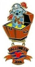 Disney Pin: DCL Cruisin' Through Time Stitch Halloween Pirate  (LE 500)
