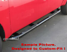 TYGER 3'' black side step bars Fit 03-11 Honda Element (Excl Sc Model) New