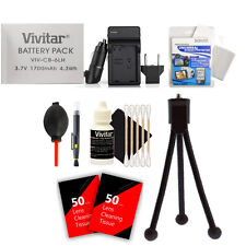 Vivitar NB-6L / NB-6LH Battery Charger Accessory Kit for Canon PowerShot Cameras