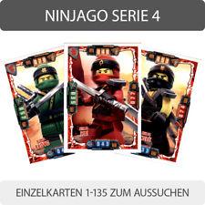 LEGO Ninjago Serie 4 Trading Cards - Einzelkarten 1-135 zum aussuchen