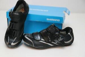 New Shimano Women's SH-WR42L Road Bike Shoes 36 5.1 Black SPD Cycling 2/3-Bolt