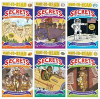 NEW Secret of American History Boxed Set of 6 Ready to Read Level 3 Three Kids
