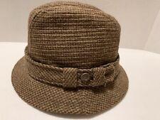 Vintage Trav'ler By Country Gentleman Brown Tweed Made In Usa 6 7/8