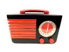 VINTAGE ANTIQUE EMERSON NEAR MINT NORMAN BEL GEDDES OLD CATALIN BAKELITE RADIO