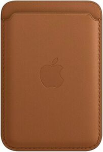 Apple Leather Wallet with MagSafe for iPhone, MHLT3ZM/A - Saddle Brown