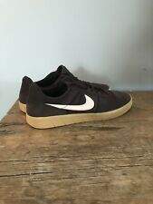 Mens Nike Sneakers Size 10 Brown and Pale Pink - Suede