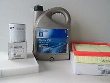 Opel Astra H 1,6 Ölwechselset Inspektionspaket Luftfilter Pollenfilter 5W30 Öl