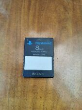 Official Sony PlayStation 2 8MB Memory Card