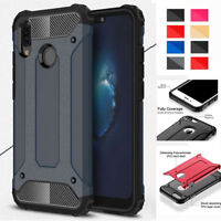Shockproof Armor Hybrid Hard Back Case Cover For Huawei P8 P9 P10 P20 Lite Pro