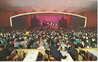 Postcard NY Concord Hotel Catskills Chrome Imperial Room Ballroom Red Curtain