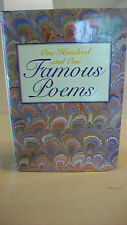 One Hundred and One Famous Poems (Hardcover)