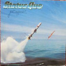 STATUS QUO JUST SUPPOSIN LP Vertigo 6302 057 1980