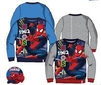 kids Boys SPIDER MAN HERO Disney Characters Jumper Sweat Tops,3-4-6-8YRS