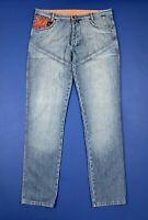 Kejo jeans uomo usato slim denim W40 tg 54 comfort man used boyfriend T5615