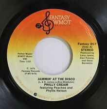 Soul 45 Philly Cream - Jammin' At The Disco / Soul Man On Fantasy Wmot Records